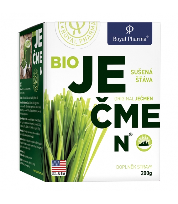 Bio Jačmeň Royal Pharma 200g
