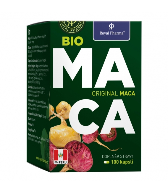 Bio Maca Royal Pharma 100 kapsúl