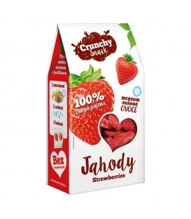 Crunchy Snack, mrazom sušené Jahody, 20g