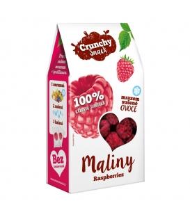 Crunchy Snack, mrazom sušené Maliny, 20g
