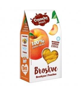 Crunchy Snack, mrazom sušené Broskyne, 20g