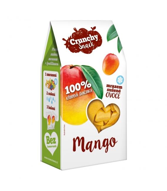 Crunchy Snack, mrazom sušené Mango, 20g
