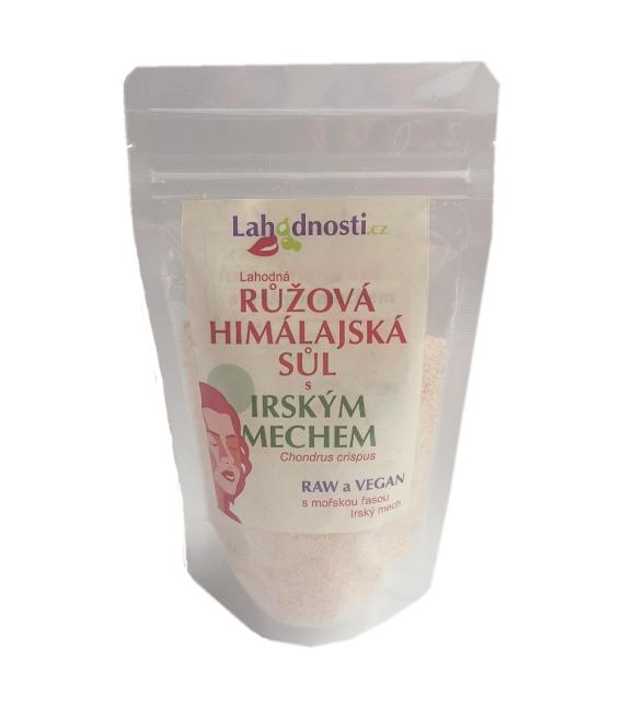 Ružová himalájska soľ s Írskym machom 400g