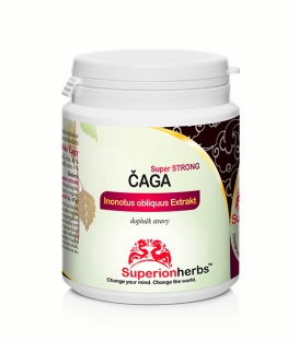 Čaga, 100% Sibírska čaga - 90 kps x 500 mg
