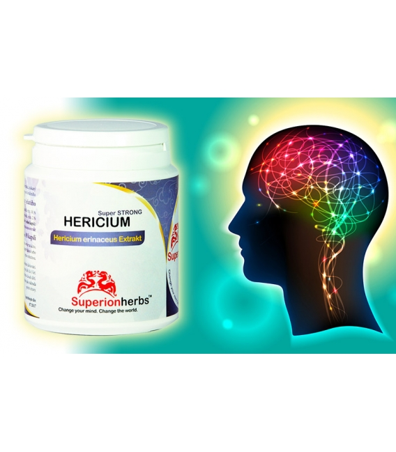 Hericium, Levia hriva - 90 kps x 500 mg, extrakt 40 % polysacharidov