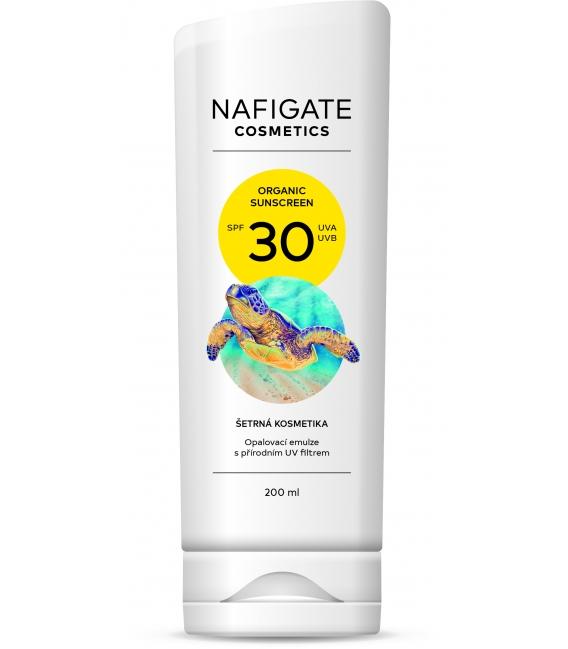 Organic Sunscreen SPF 30 (200ml opalovací krém s prírodným polymerom P3HB)