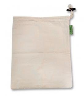 Plátené vrecko M - 25 x 30 cm - Organická látka