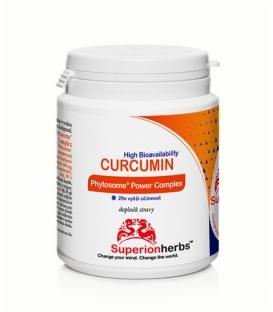 Curcumin Phytosome 90 kps - Superionherbs, Kurkumín s vysokou vstrebateľnosťou