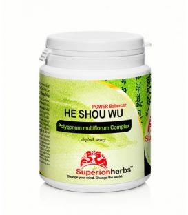 He Shou Wu – Power Balancer, 90 kps x 500 mg, Superionherbs