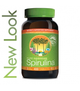 Spirulina Pacifica Tablety 400 tbl, Nutrex Hawaii