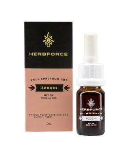 HERBFORCE CBD OLEJ 30 % Full Spectrum, 10 ml