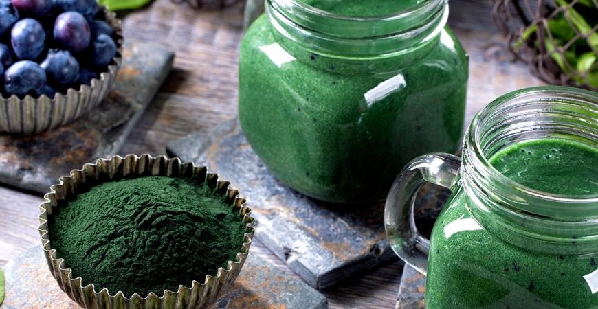 Spirulina - jedna z najlepších zelených potravín vôbec